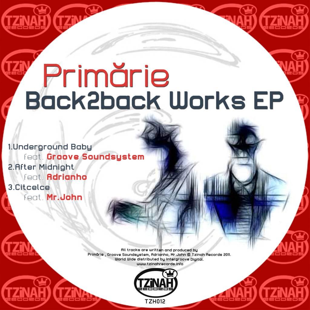 Primarie - Back2Back Works EP [TZH012]