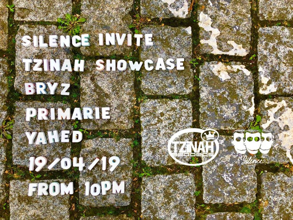 Tzinah SHowcase Silence 19 April